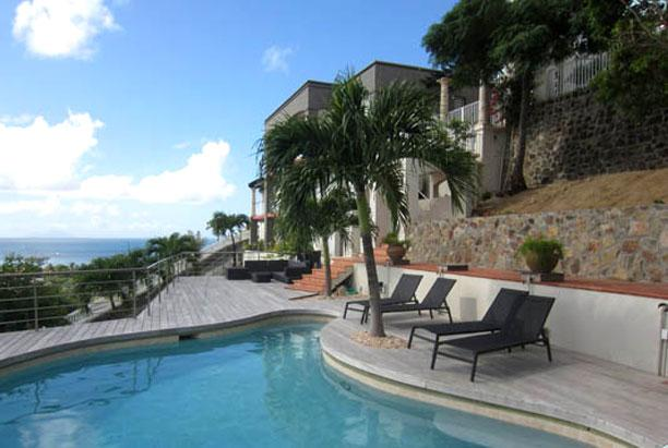 St. Martin Villa 200 Offers Amazing Oceanviews Of The Great Bay Harbor, Philipsburg And The Neighboring Caribbean Islands In The Distance. - Image 1 - Philipsburg - rentals