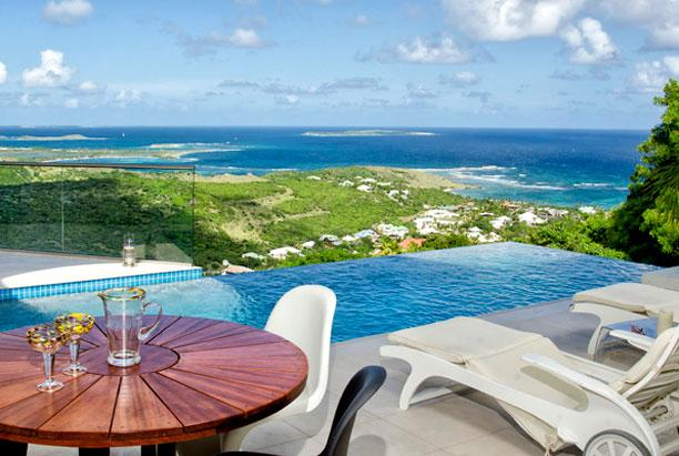 St. Martin Villa 203 The Villa Offers Breathtaking Views Of The Ocean And Orient Bay. - Image 1 - Oyster Pond - rentals