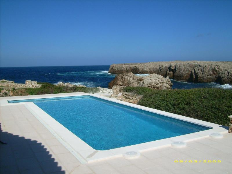 Punta Grossa Sea Frontline House, 180 deg panoramic views - Image 1 - Arenal d'en Castell - rentals