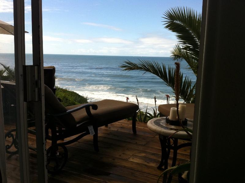 Ocean view from master bedroom - Ocean Front 3bedoom home. - Laguna Beach - rentals