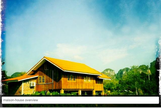 overview - Traditionnal Thai house - Krabi - rentals