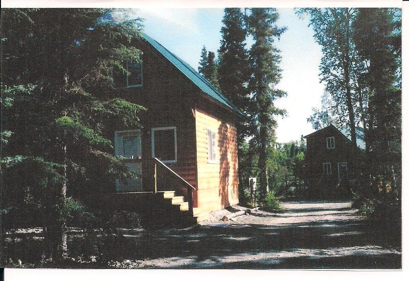 Another view of Cabin. - Cabin on the Kenai River Private Bank Fishing - Soldotna - rentals