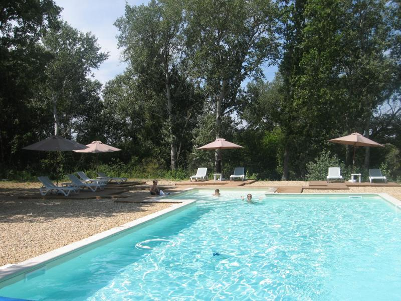 Large, fenced, pool - A wonderful 2 bedroom gite with pool, near Gordes - Gordes - rentals