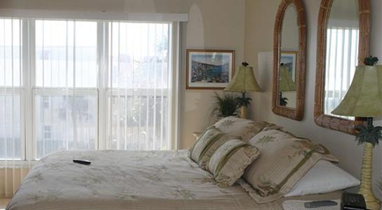 Master Bedroom - 2 Bed w Stunning Ocean View - Pier Point South 14 - Saint Augustine - rentals
