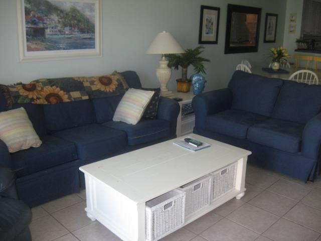 Living Room - Ocean View Pier Point South - Unit 39 - Saint Augustine - rentals
