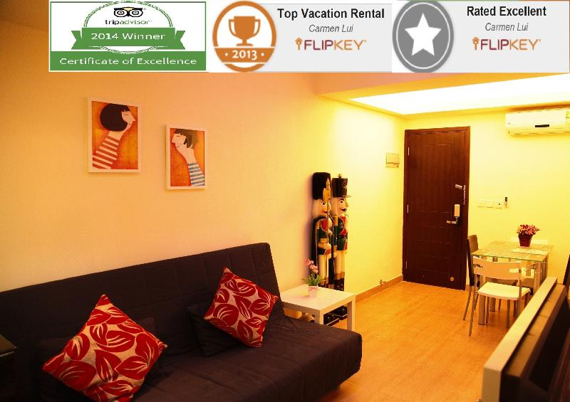 Award based on excellent reviews and high marks receive in traveler reviews.  - CausewayBayMTR & TimeSquare#Near HKCEC - Hong Kong - rentals