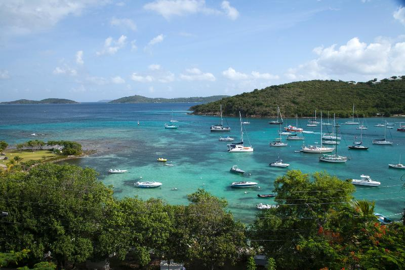 View from Main Balcony - 2 bedroom condo Cruz Bay St John USVI - Cruz Bay - rentals