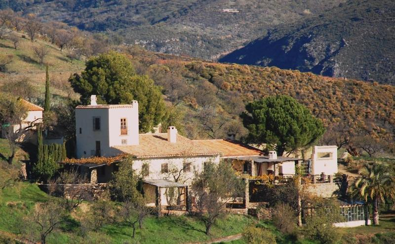 south elevation - Mountain retreat for up to 20, pool & tennis court - Granada - rentals