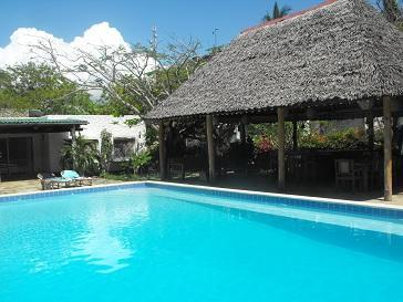 View of Terrace and House from the Pool - The Pool House Diani Beach - Diani - rentals