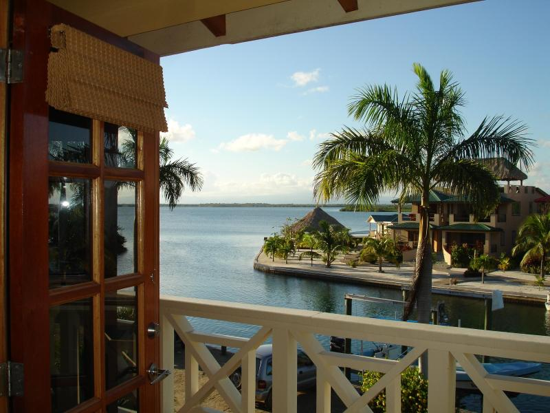 View from Master Bedroom - Best views in Placencia, water on both sides!! - Placencia - rentals
