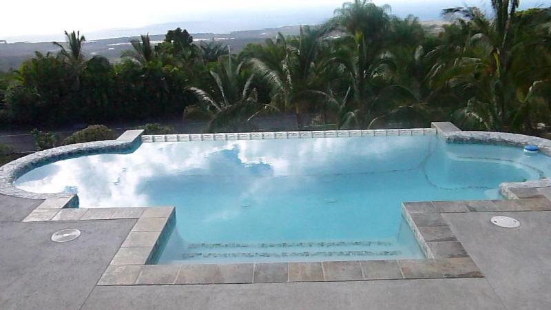 Ahh...paradise view from pool. - Paradise Suite with Heavenly Views - One Bedroom - Kailua-Kona - rentals