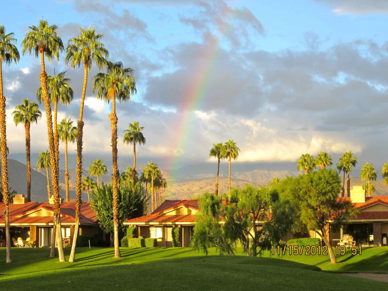 View from patio. - BEAUTIFUL West Facing Patio.  SUNSHINE! - Palm Desert - rentals
