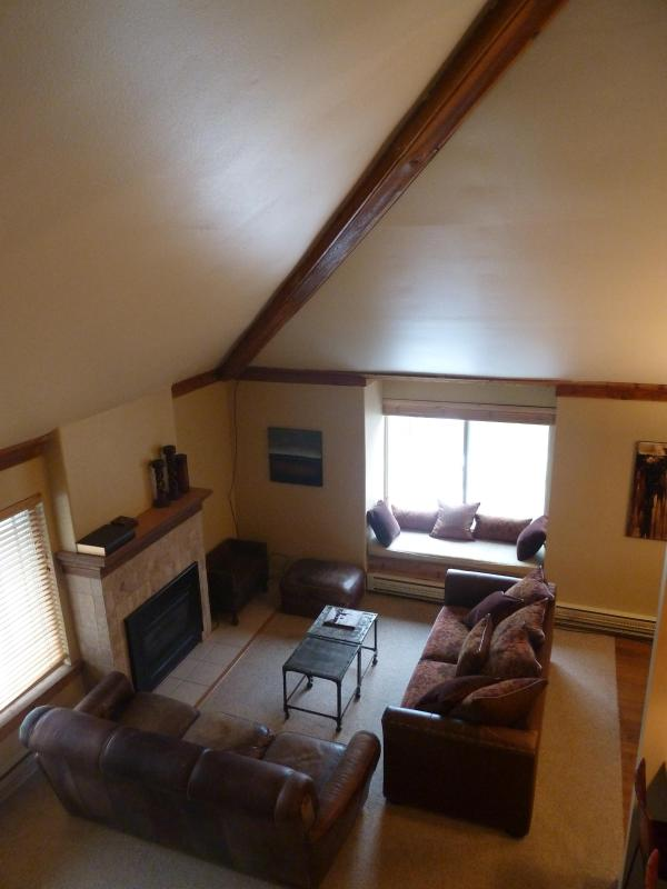 Living Room - Luxury Condo at the Canyons, Walk to 2 Lifts - Park City - rentals