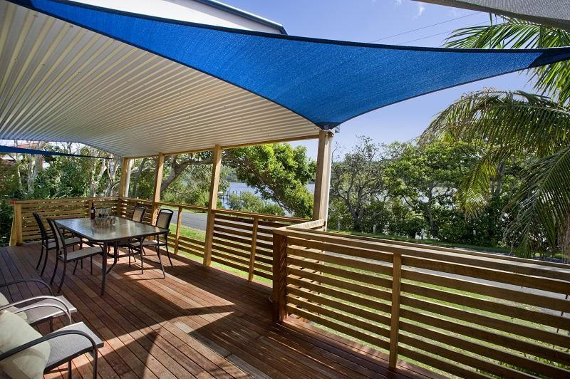 Admirals Deck outdoor Living - Wooli Serviced Apartments-Waterviews-many extras - Wooli - rentals