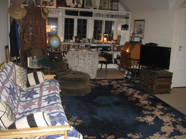 Living-Dining-Office Area - An Antique Tudor Carriage House - South Orange - rentals