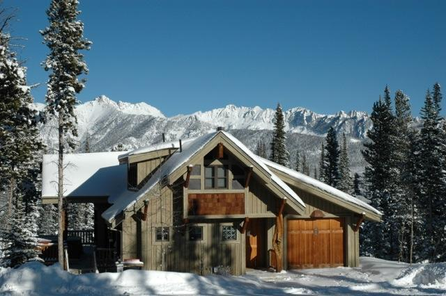 exterior view - Moonlight Basin Ski in/Ski out! Lux 4 bedroom home - Big Sky - rentals