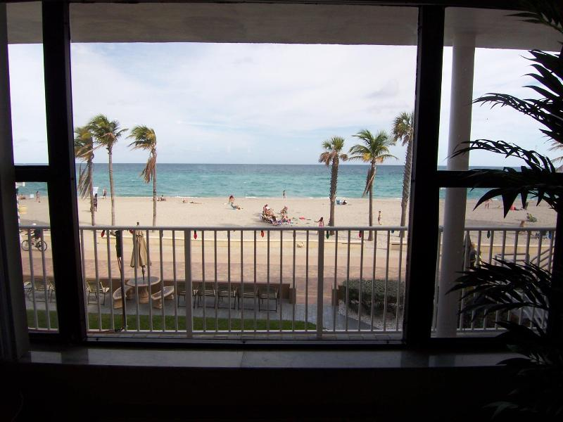 View - Stunning Ocean Views From This Cozy Oceanfront 1/1 - Hollywood - rentals