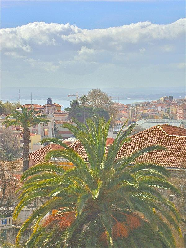 The view from the balcony. - Gorgeous view over city and river. - Lisbon - rentals
