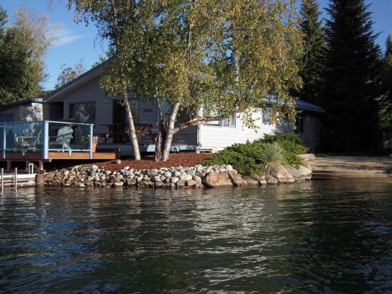 House sits almost in the water! - Water Sports Vacation Getaway - Sandpoint - rentals