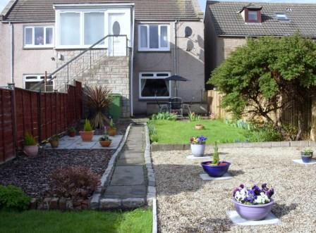 The apartment from the enclosed garden - Violets, Montrose: Lovely 2 bedroomed apartment - Montrose - rentals