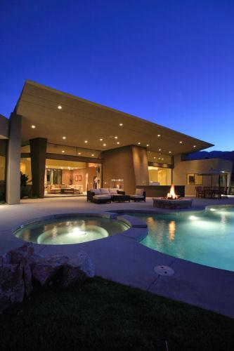 Dramatic View-Private Luxury-Unique Home-Huge Pool - Image 1 - Palm Springs - rentals