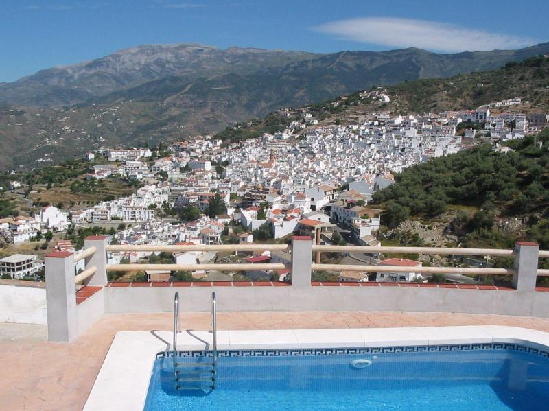 View from pool side - Casita Portichuelo (rural setting-walk to Competa) - Competa - rentals