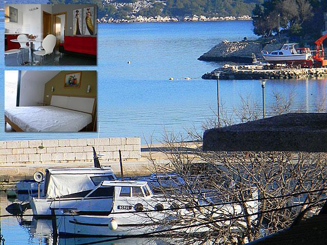 Apartment view - Apartment 50 m from the sea, 2+2 - Tisno - rentals