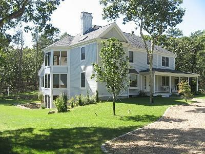 Exterior - 85 Meadow View Road, Oak Bluffs MA - Oak Bluffs - rentals