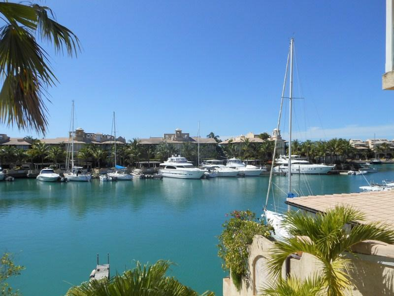 Marina view from the deck - Three bed marina property Port St Charles Barbados - Speightstown - rentals