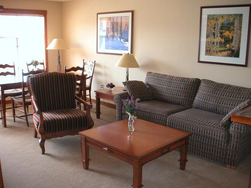1BR Ski in/Out Slope & Village Views in Powderhorn - Image 1 - Solitude - rentals