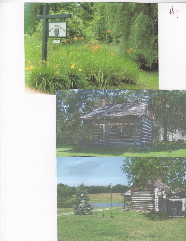 "Beginning of drive - GOOD TIME FARM LOG CABIN ""ESCAPE"" - Hillsboro - rentals"