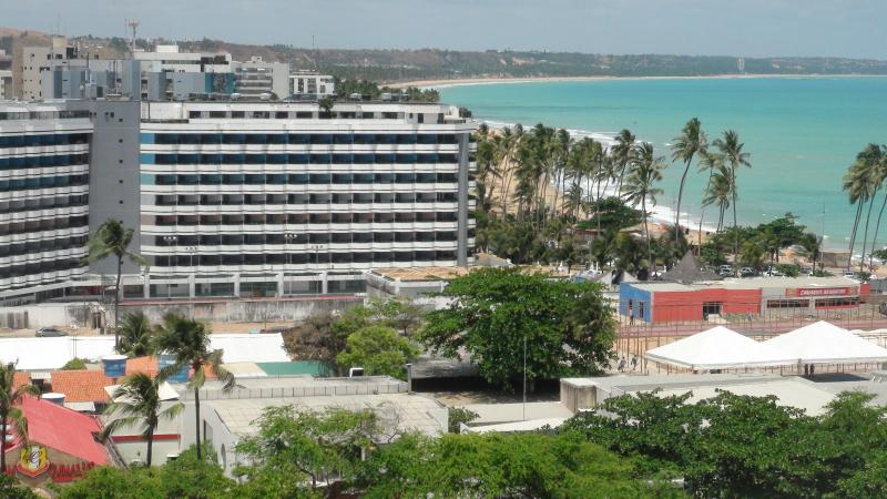 View from the top - Brand New Furnished Apartment by the Sea, for 2!! - Maceio - rentals
