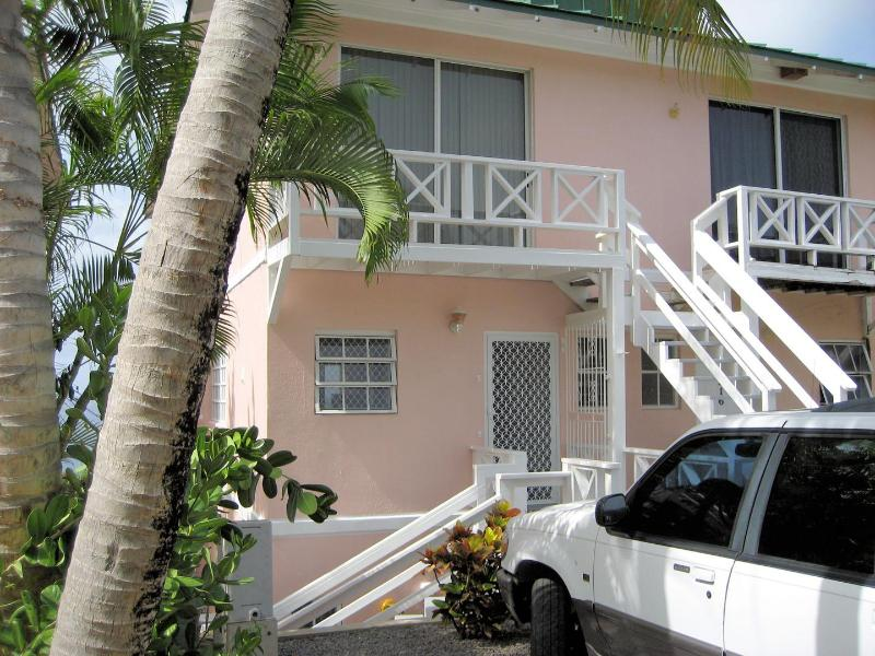 Main House (Apt is ground floor at the Rear) Short flight of steps to acess - 1 Bedroom Apartment, Frigate Bay, Caribbean views. - Basseterre - rentals