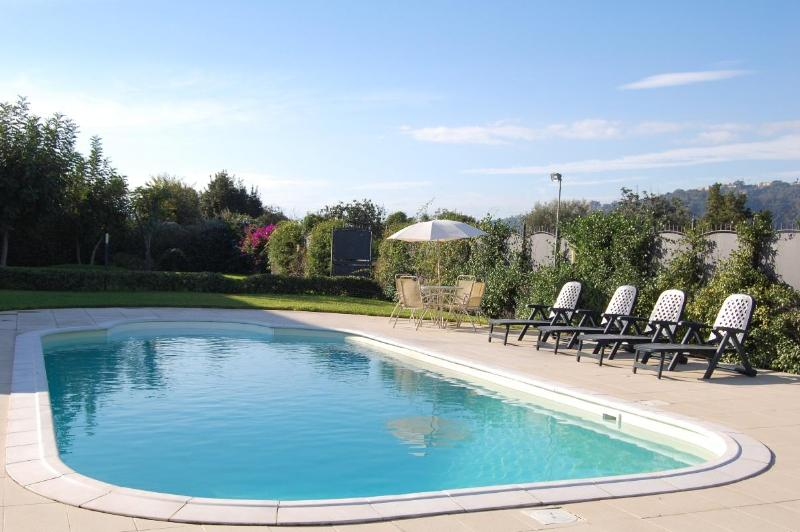 pool - Apartment with terrace and pool, garden and wifi - Acireale - rentals