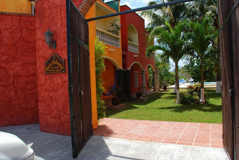 Entrance - Casa Azul, An Oasis In The Heart of San Miguel - Cozumel - rentals