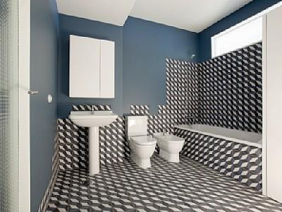 Bathroom - Porto Historic Centre - low cost apartment - Porto - rentals