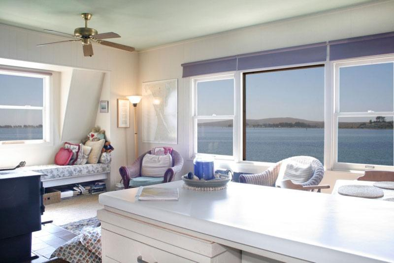 Panoramic Bay Views from Living Room  - At the Bays Edge - Stay on The Water in Bodega Bay - Bodega Bay - rentals