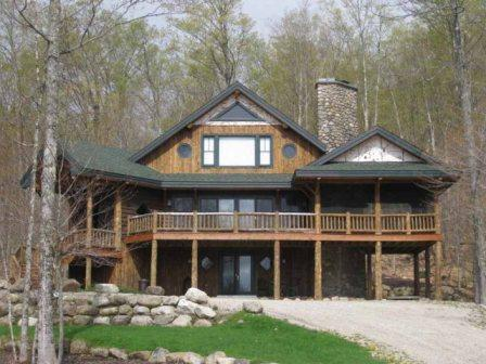 Front of the Home - Owl's Nest-views of lake & mountains-sleeps 14 - Lake Placid - rentals