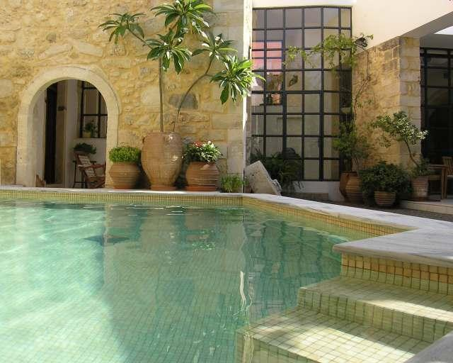 Full of privacy Heated swimming pool - 15 century, Classified heritage site, beach 3km 5b - Rethymnon - rentals