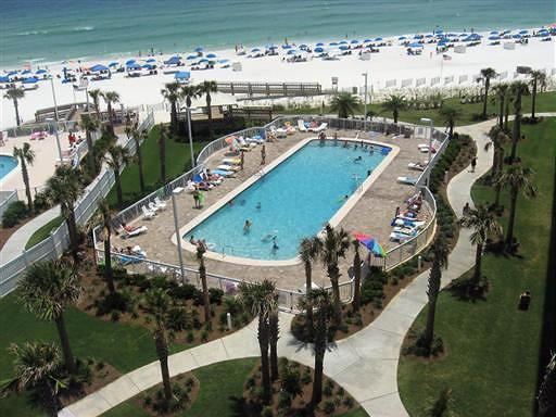 Outdoor Pool and Beach - 5 Star Seaside Beach Condo - 4807 - Orange Beach - rentals
