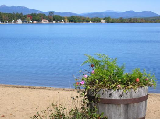 View from the Beach - Lake and Mountain Views - Ossipee - rentals