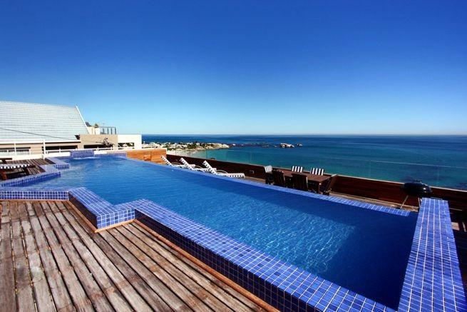 Roof Top Heated Private Pool - White Cliffs Penthouse - Cape Town - rentals