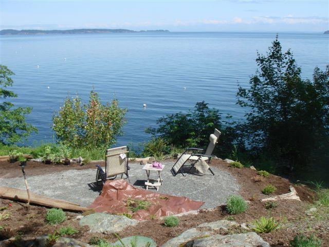Gorgeous view from property - Orcas Island Stunner Oceanfront- 2nd Living Space! - Eastsound - rentals