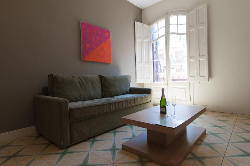 Living Room - Sunny Flats Sepulveda (2 bedroom apartment) - Barcelona - rentals