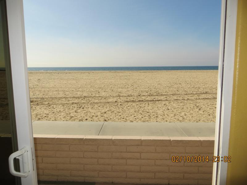 View from the family room & Kitchen - Oceanfront in Newport Beach, 3 bedrooms, 2 bath - Newport Beach - rentals