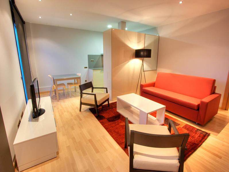 Living Room - Tamarit Attic - Barcelona - rentals