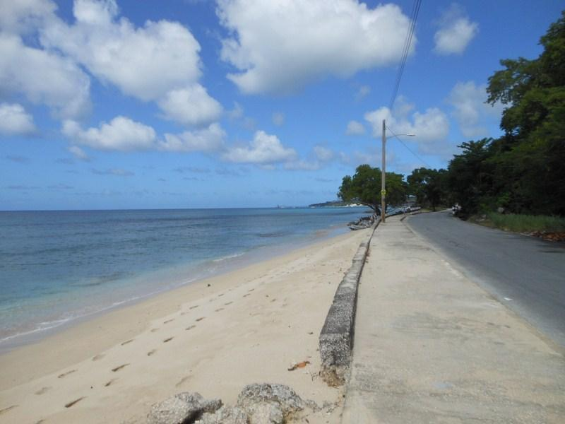 The beach in front of the apartment - Two bed ocean front penthouse - Speightstown - rentals