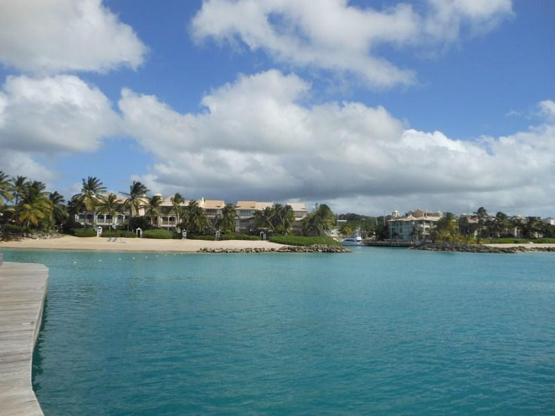 the local yacht club with pool, restaurant and bar - One bed ocean front studio - Speightstown - rentals