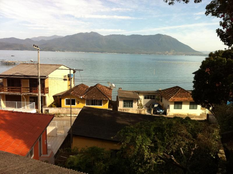 View of the street from the mountain - Beach Front House - Florianopolis - rentals