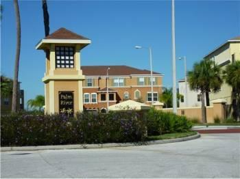Community Entrance - 2 bedroom large view townhome garage, gated, pool - Tampa - rentals